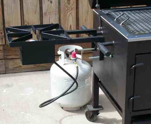 Tejas fish fryer burner assembly for Fish fryer burner